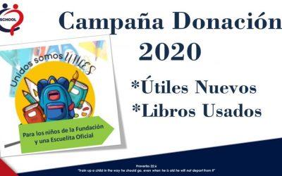 Campaña Donación 2020